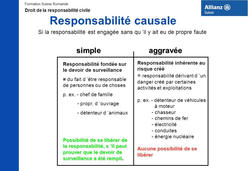 Responsabilité causale
