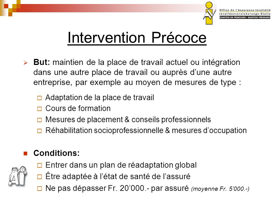 Intervention Précoce