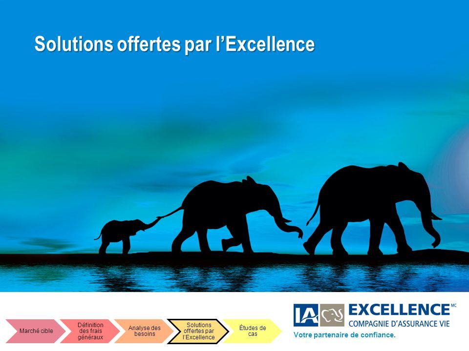 Solutions offertes par l'Excellence