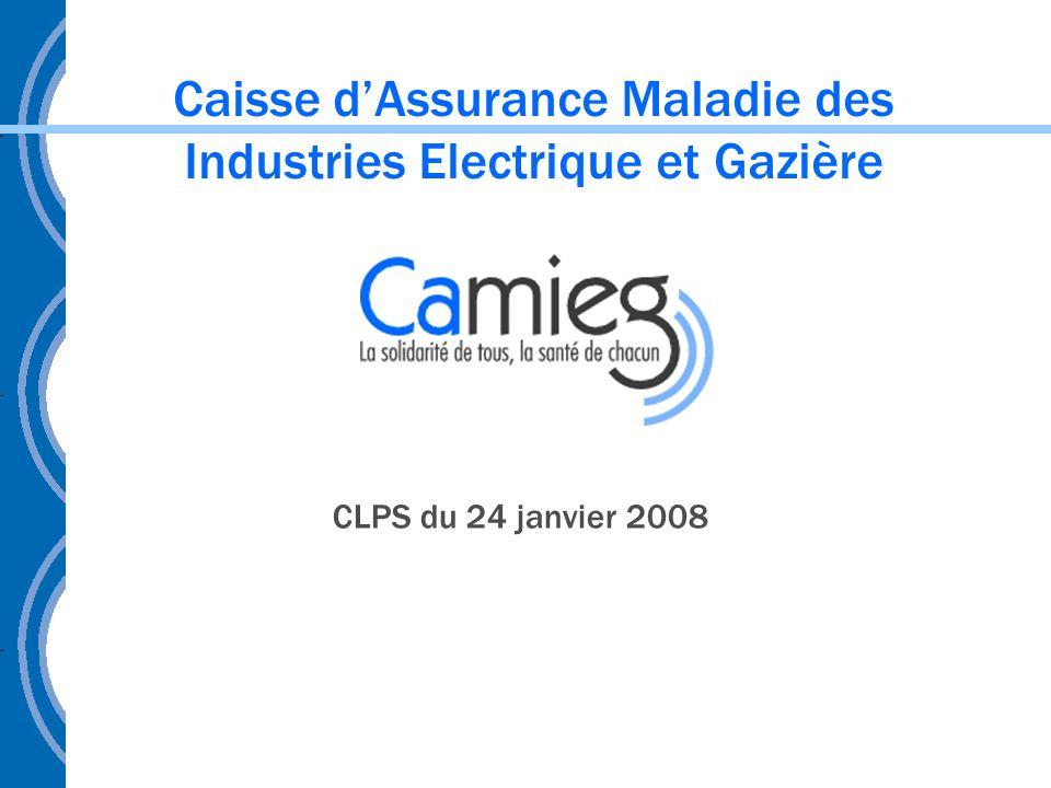 Caisse d'Assurance Maladie des Industries Electrique et Gazière