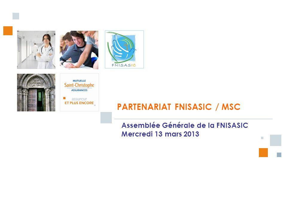 PARTENARIAT FNISASIC / MSC