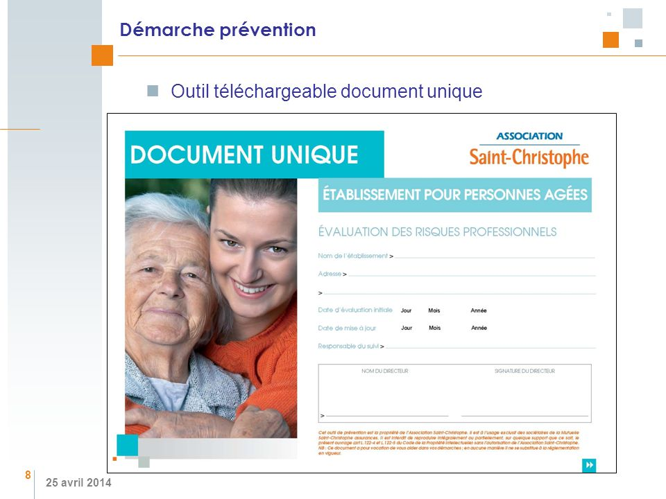 Outil téléchargeable document unique