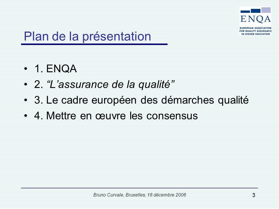 ENQA dans l'Espace européen de l'enseignement supérieur