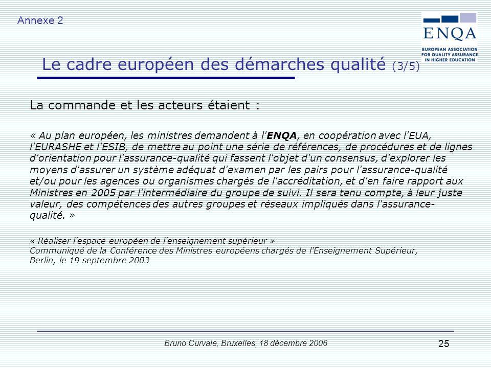 Le cadre européen des démarches qualité (2/5)