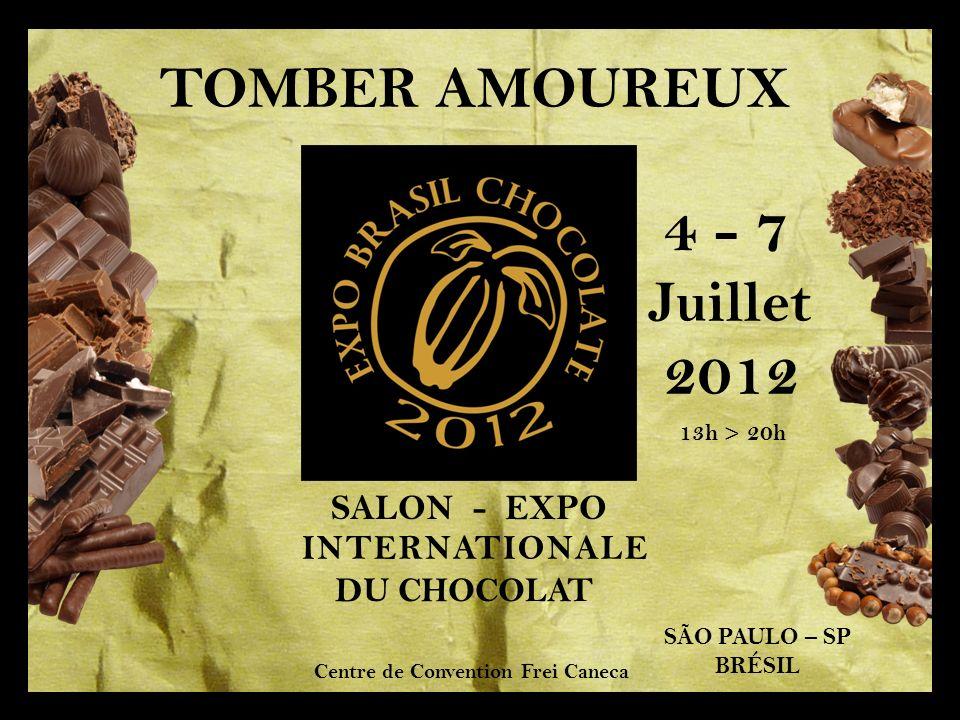 4 - 7 2012 TOMBER AMOUREUX Juillet SALON - EXPO INTERNATIONALE