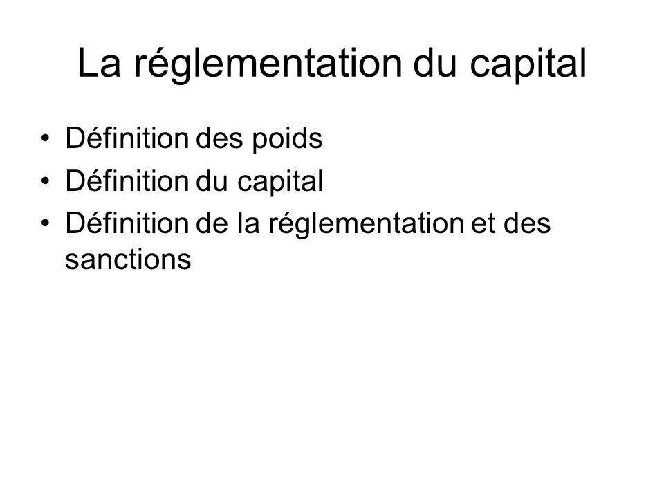 La réglementation du capital