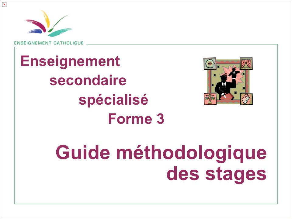 Guide méthodologique des stages