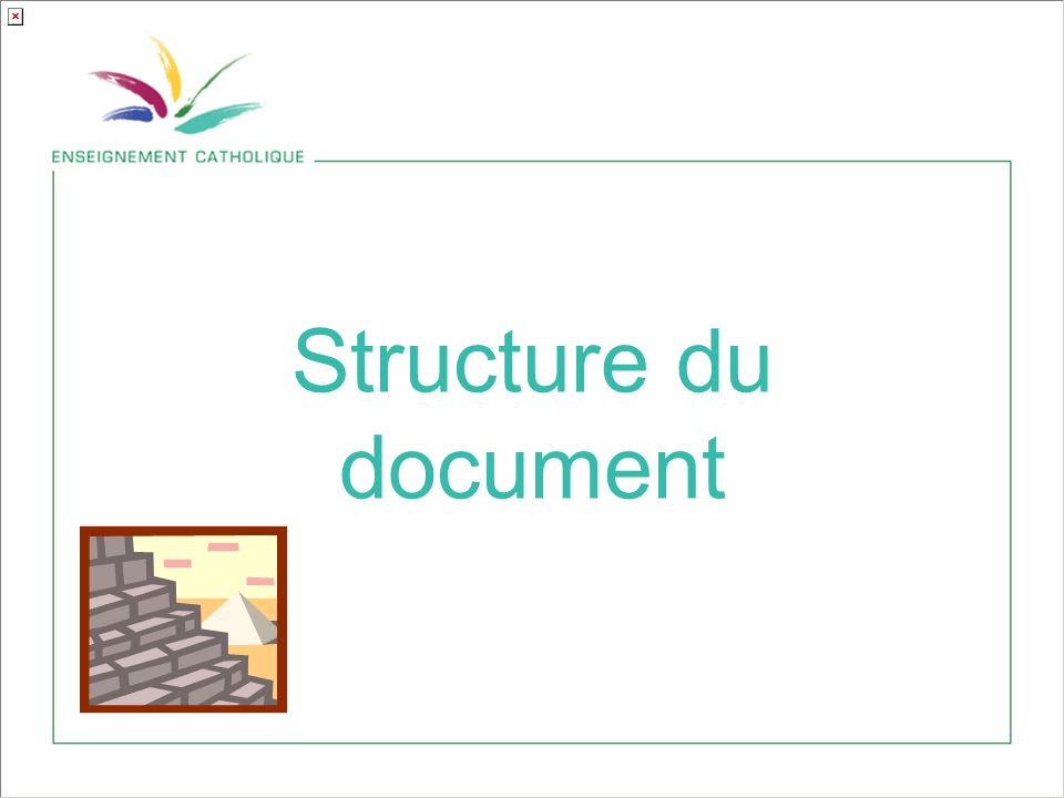 Structure du document