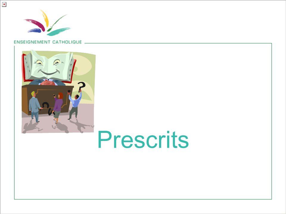 Prescrits