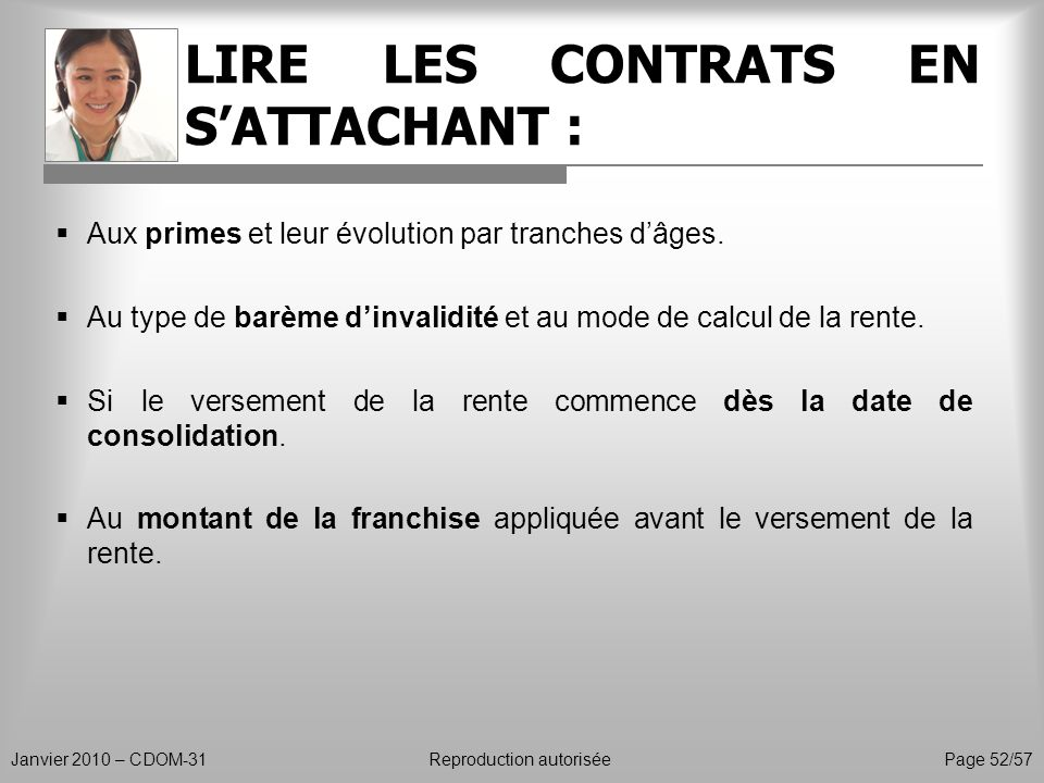 LIRE LES CONTRATS EN S'ATTACHANT :