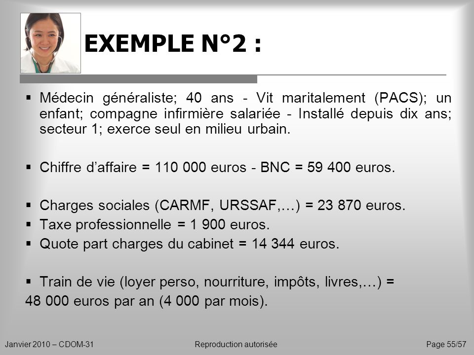 EXEMPLE N°2 :
