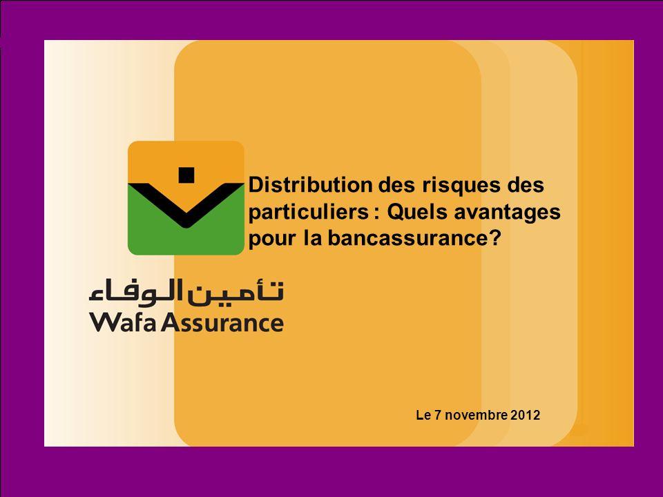 Distribution des risques des particuliers : Quels avantages pour la bancassurance