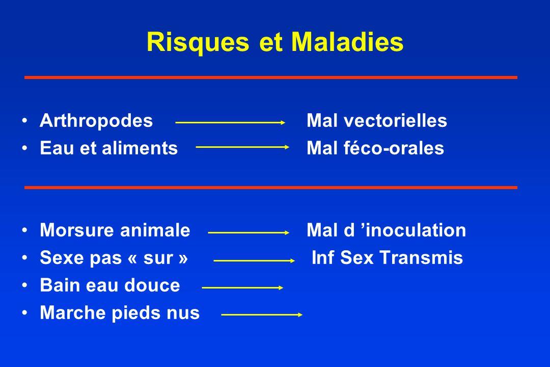 Risques et Maladies Arthropodes Mal vectorielles