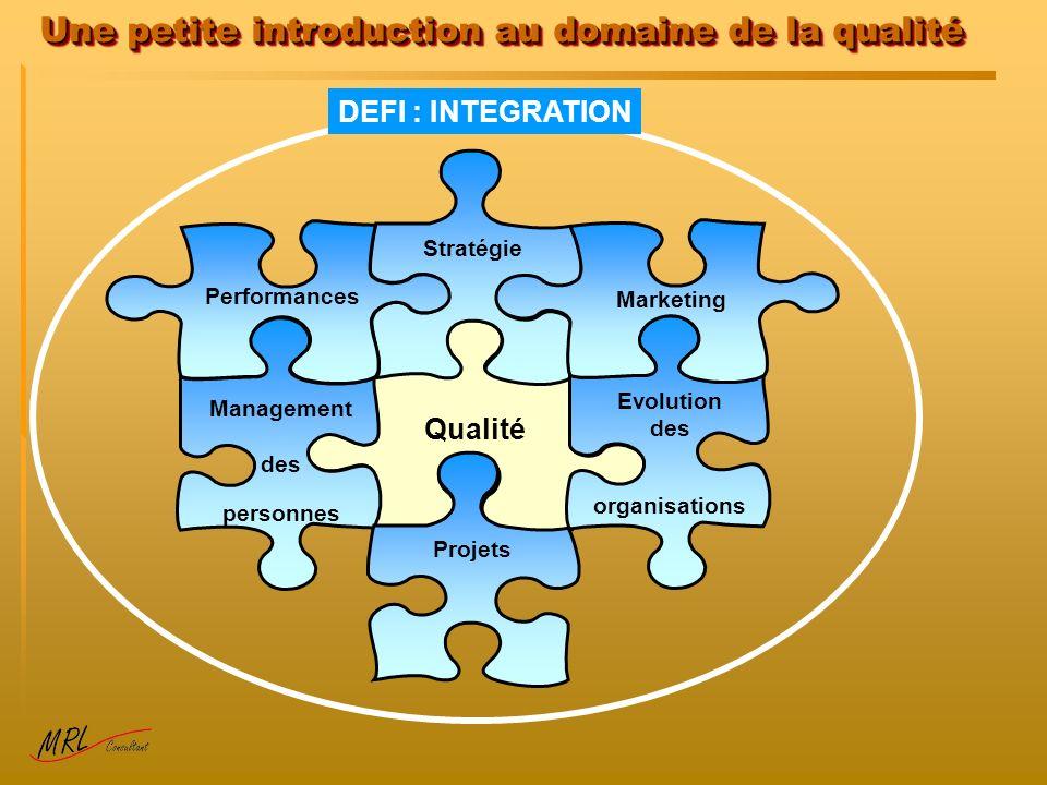 Une petite introduction au domaine de la qualité