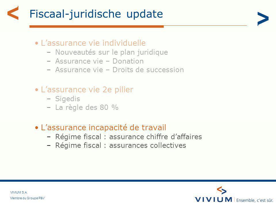 Fiscaal-juridische update
