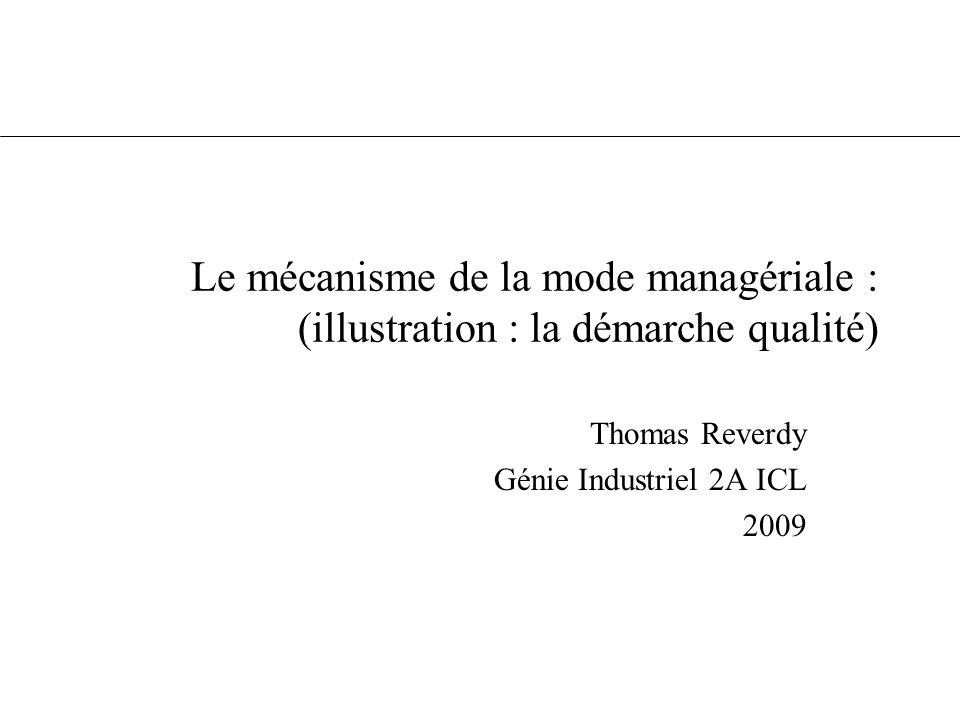 Thomas Reverdy Génie Industriel 2A ICL 2009