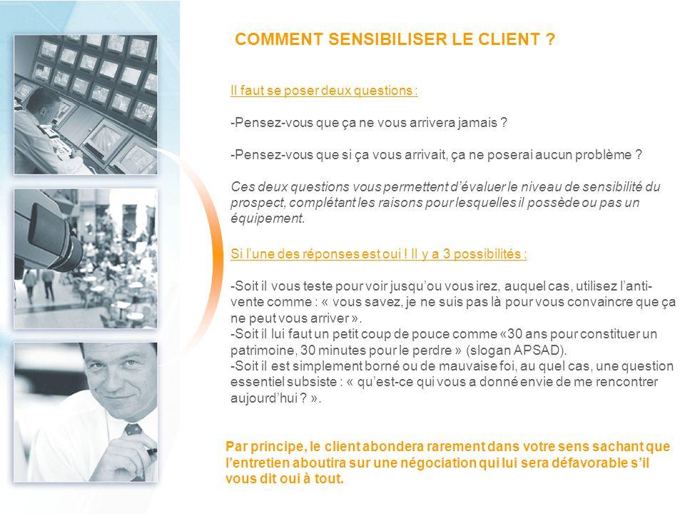 COMMENT SENSIBILISER LE CLIENT