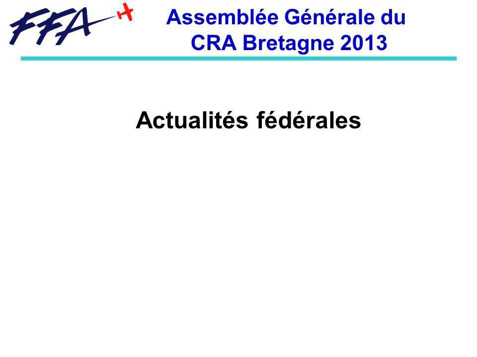 Assemblée Générale du CRA Bretagne 2013