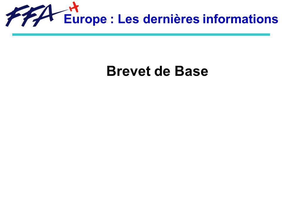 Europe : Les dernières informations