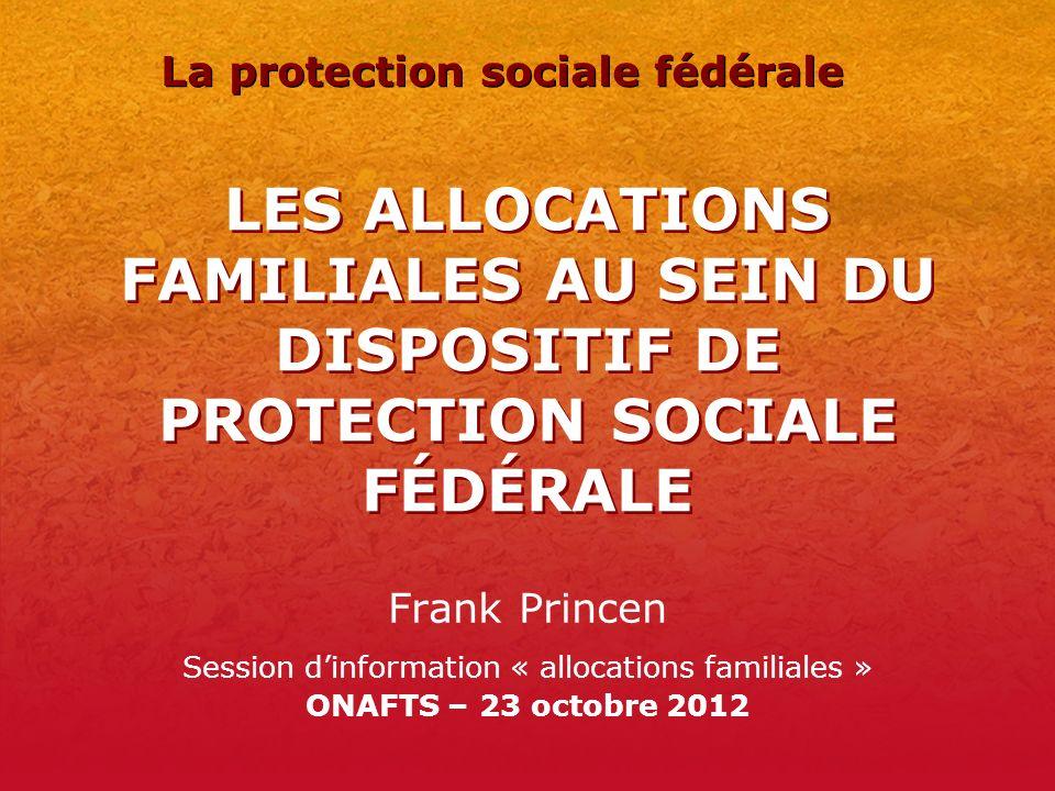 La protection sociale fédérale