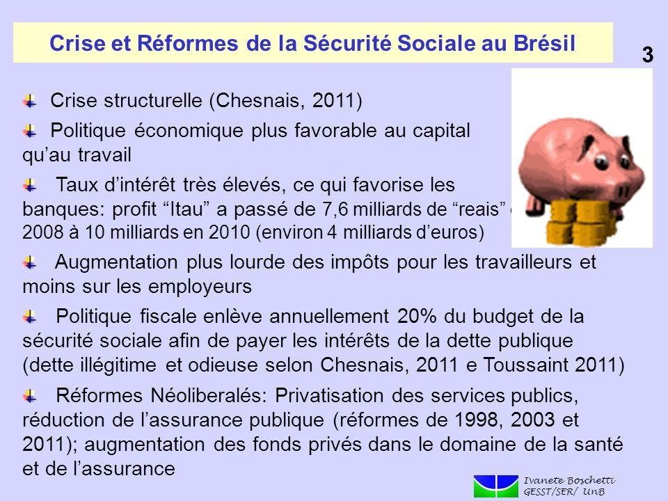 Crise et Réformes de la Sécurité Sociale au Brésil