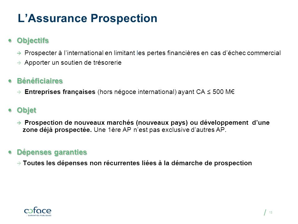 L'Assurance Prospection