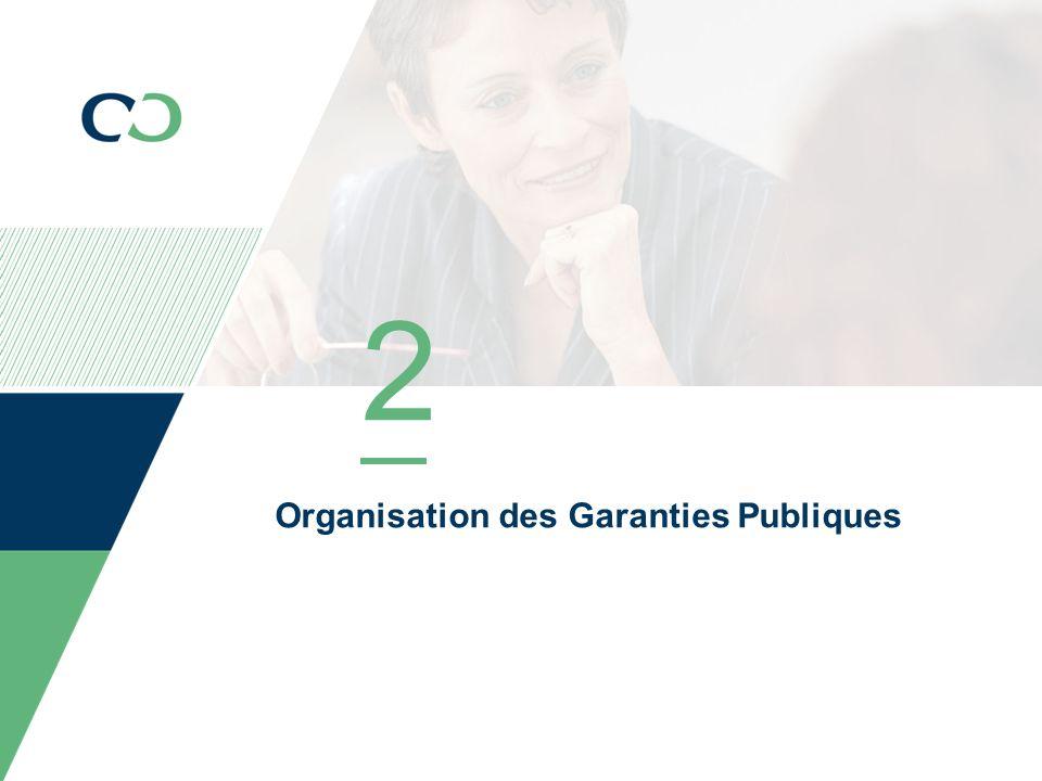 2 Organisation des Garanties Publiques