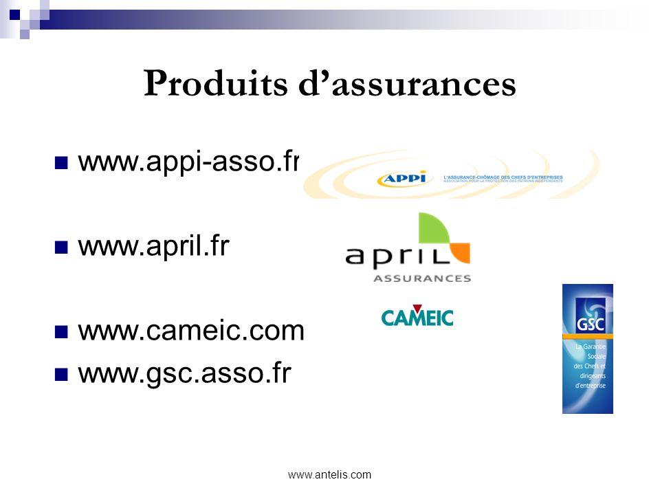 Produits d'assurances