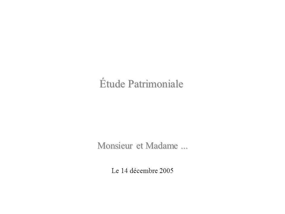 Monsieur et Madame ... Le 14 décembre 2005