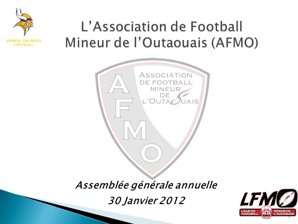 L'Association de Football Mineur de l'Outaouais (AFMO)
