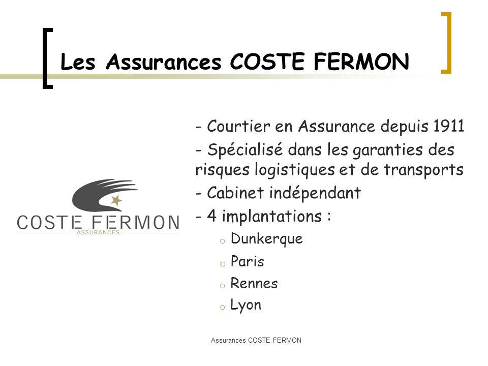 Les Assurances COSTE FERMON