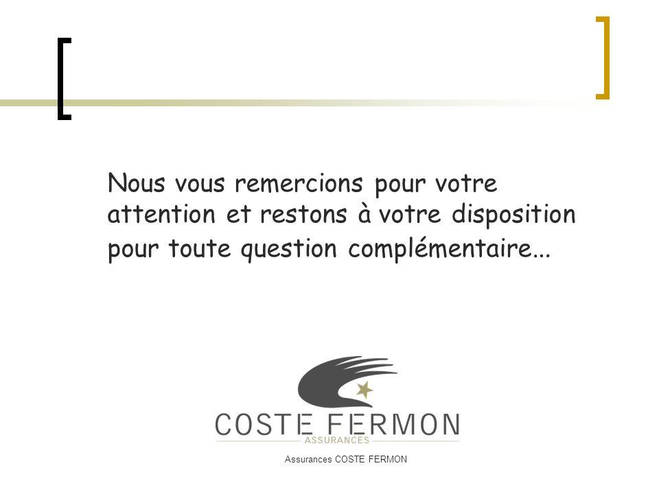 Assurances COSTE FERMON