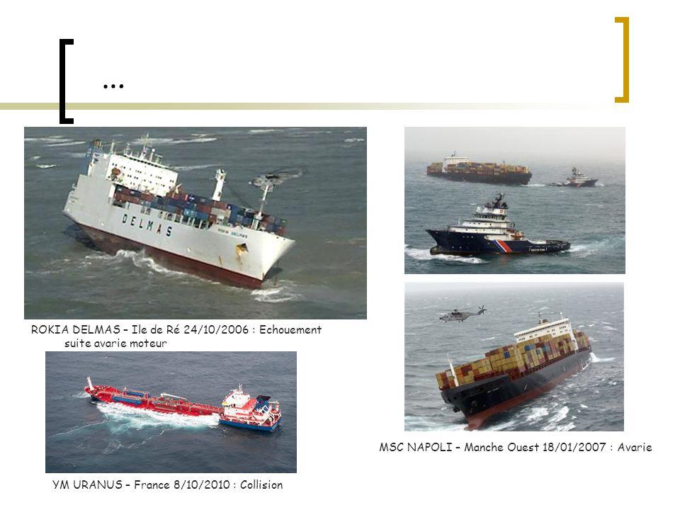 … ROKIA DELMAS – Ile de Ré 24/10/2006 : Echouement suite avarie moteur