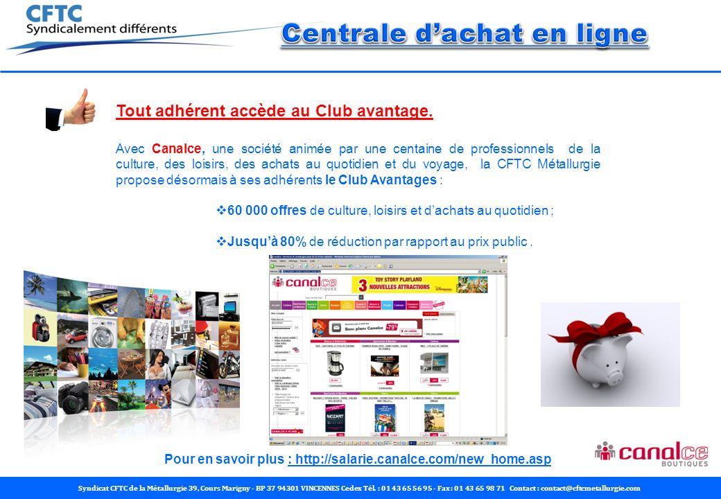 Centrale d'achat en ligne