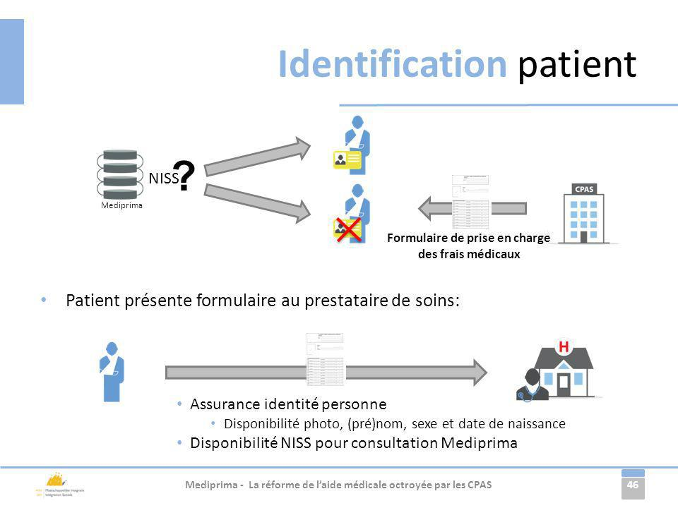 Identification patient