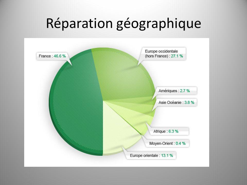 Réparation géographique