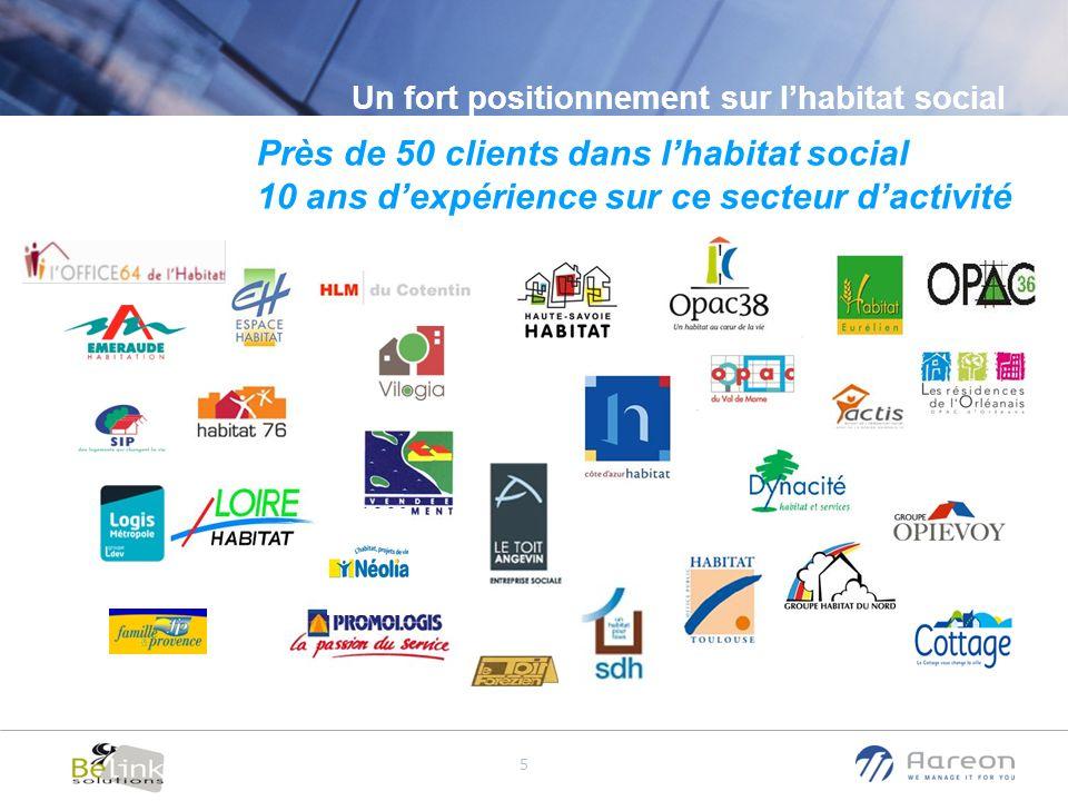 Près de 50 clients dans l'habitat social