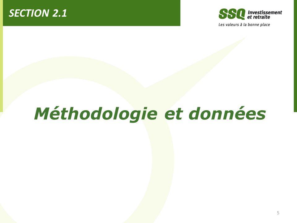Méthodologie et données