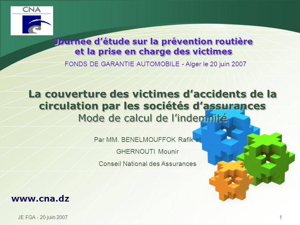 Journée d'étude sur la prévention routière et la prise en charge des victimes