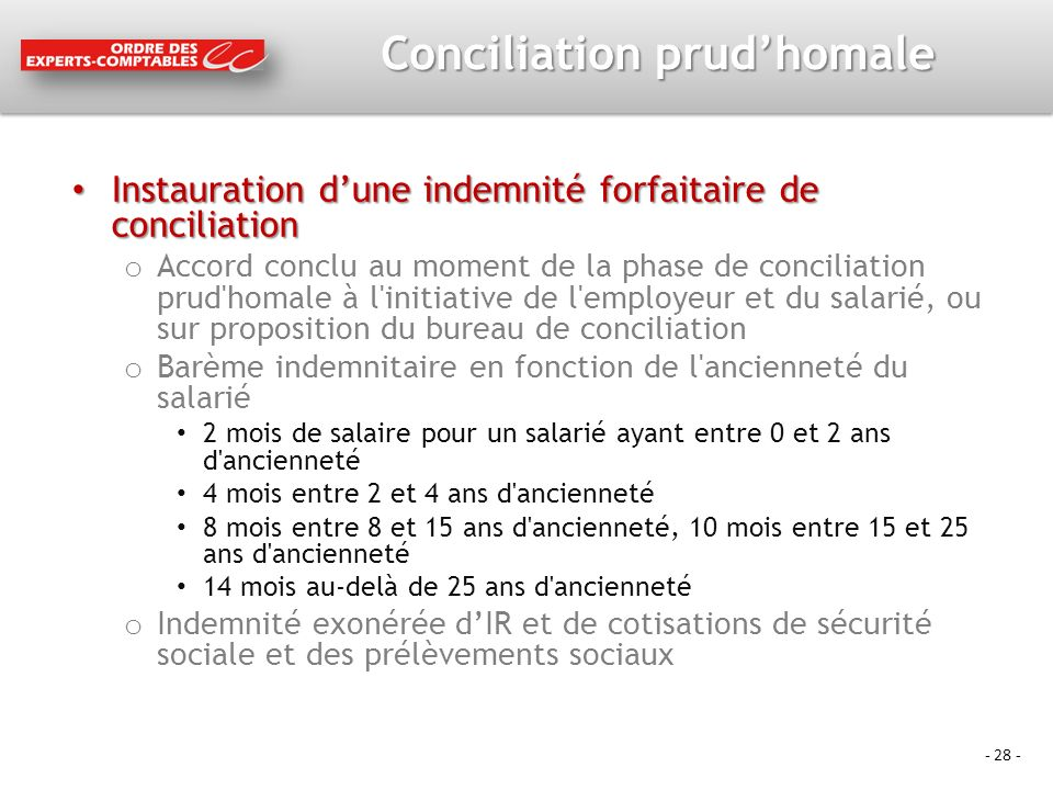 Conciliation prud'homale
