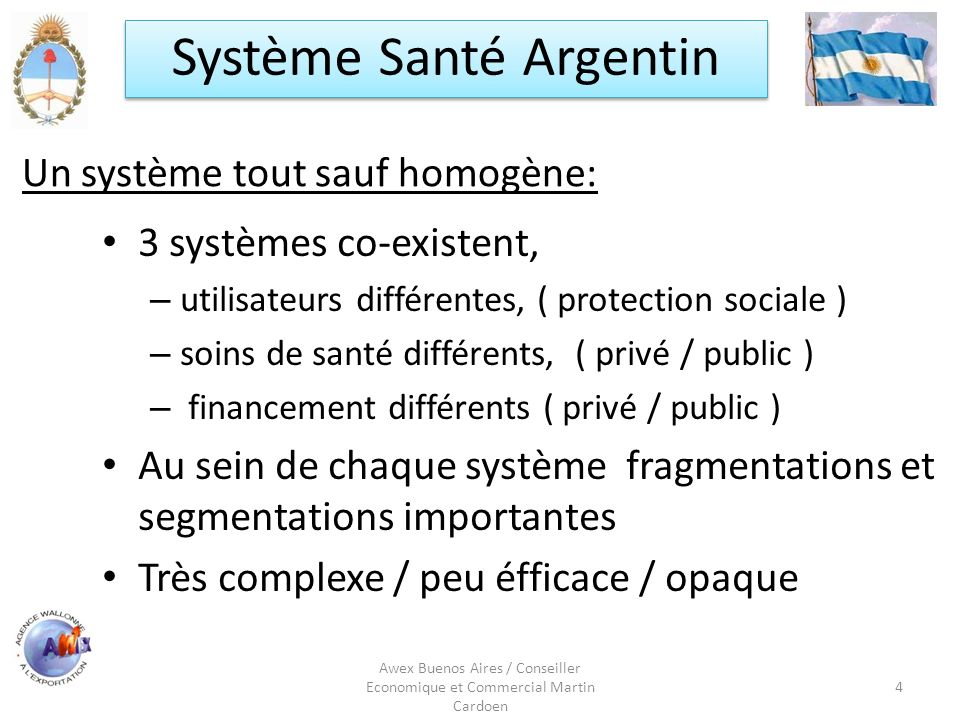 Un système tout sauf homogène: