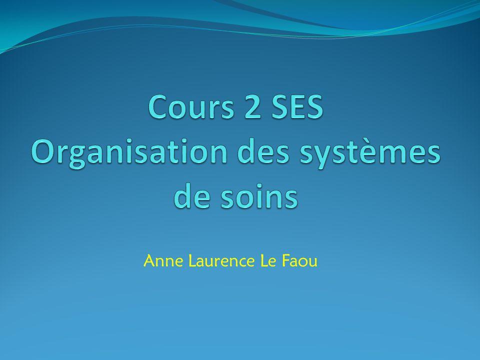 Cours 2 SES Organisation des systèmes de soins