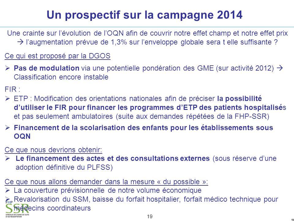 Un prospectif sur la campagne 2014