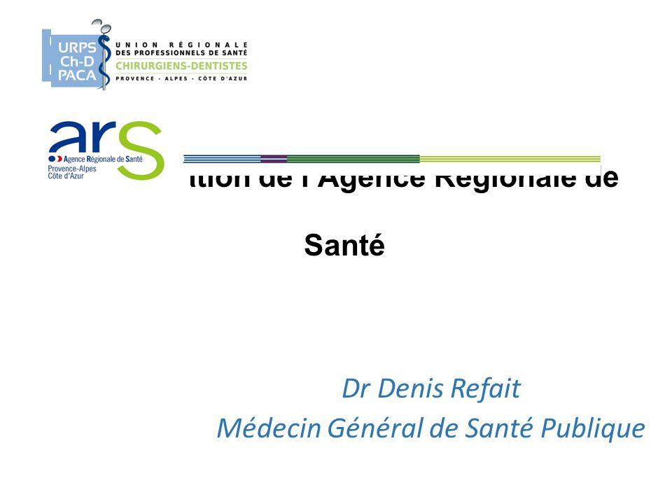 Présentation de l'Agence Régionale de Santé