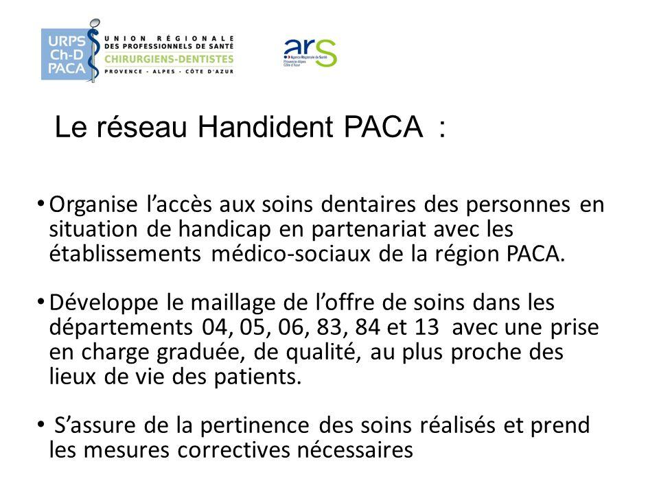 Le réseau Handident PACA :