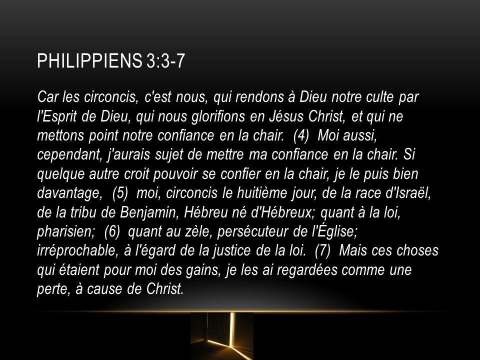 PhiLIPPIENS 3:3-7