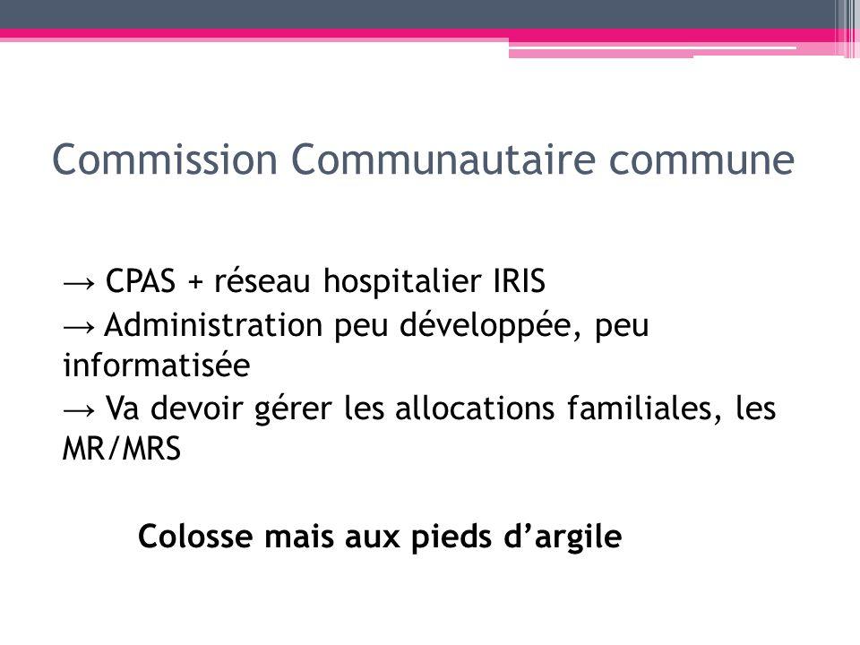 Commission Communautaire commune