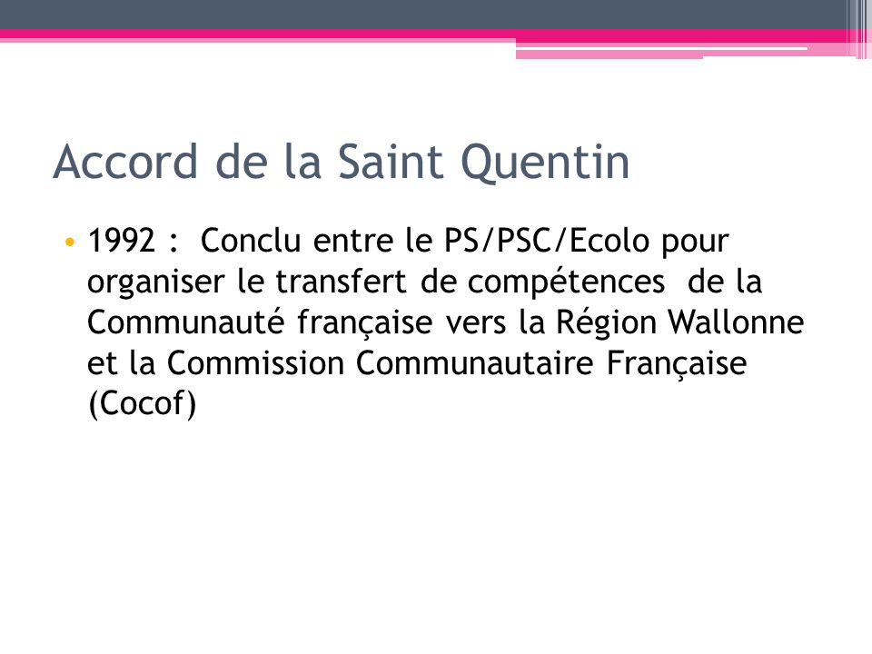 Accord de la Saint Quentin