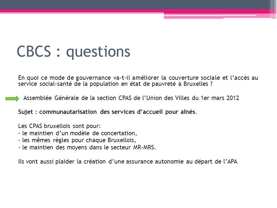 CBCS : questions