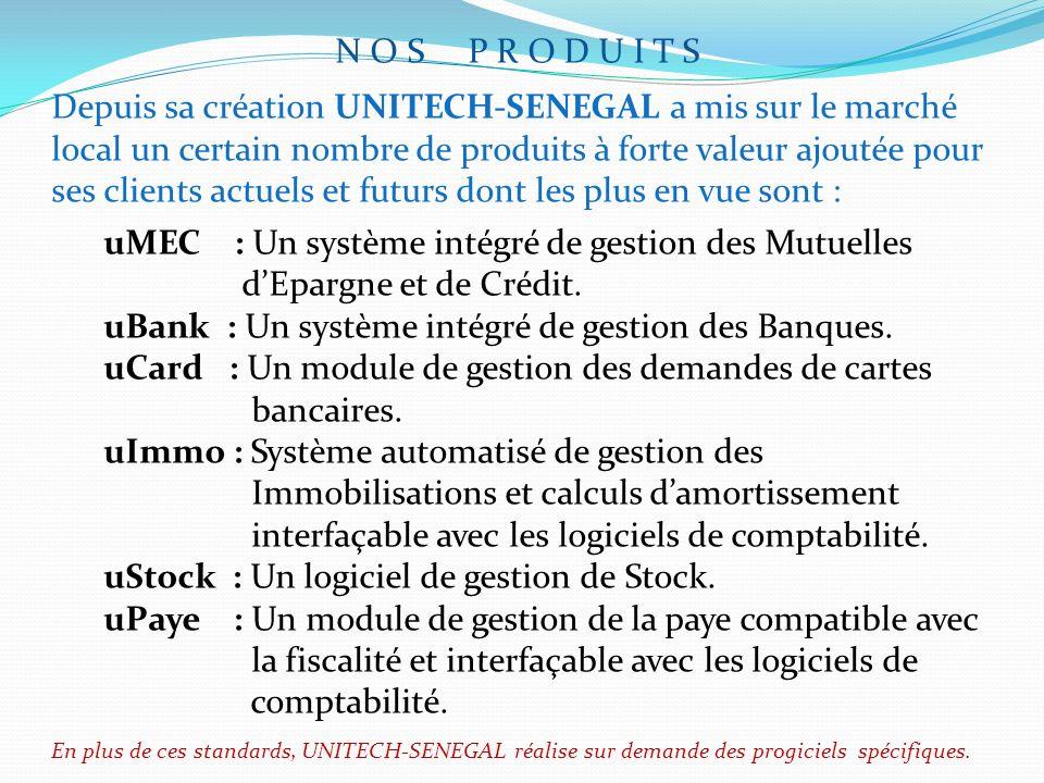 uMEC : Un système intégré de gestion des Mutuelles